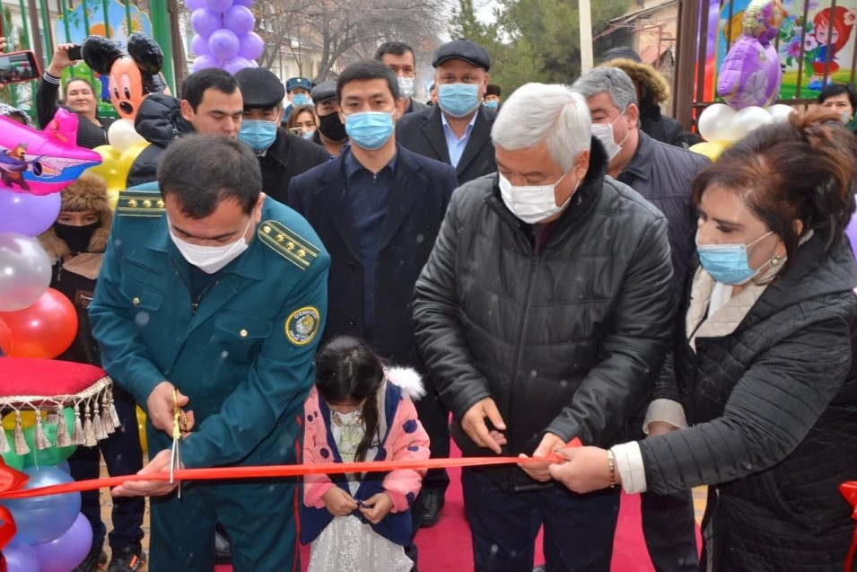 The kindergarten No. 118 of the Almazar region was put into operation.